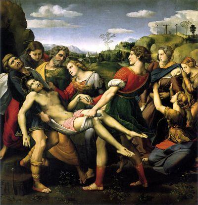 Deposizione Baglioni - Pala d'altare Raffaello Sanzio