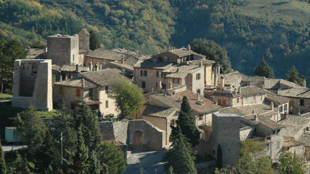 Collepino of Spello - Panorama