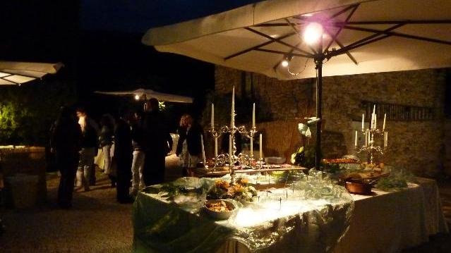 Romantic event at the Sentiero of Armenzano