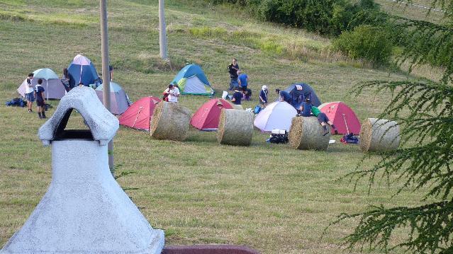 Assisi campeggio camping per scout