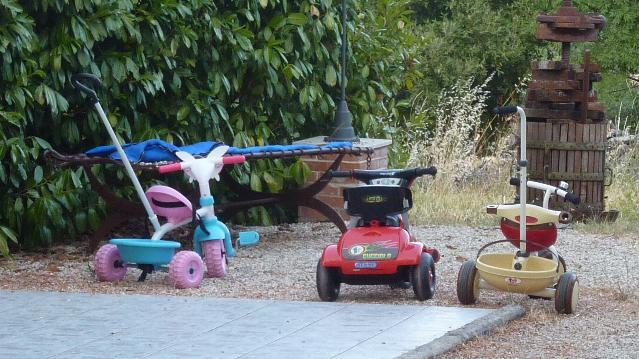 Ampio parcheggio per grandi e piccini!!!