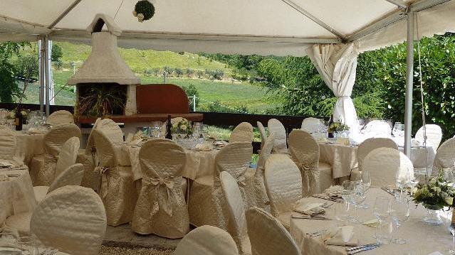 Cerimonie Assisi - Allestimento di classe in ambiente naturalistico