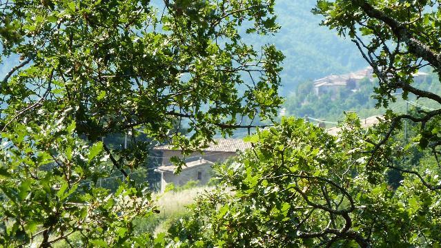 Dalle nostre finestre:vedute di Nottiano e San Giovanni di Spello